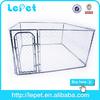 hot sale iron four wheels pet cage