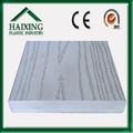 Solid pvc transparente telhas decking ce, sgs, anti- desvanecimento