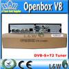 Openbox V8 combo hd receiver dvb-s2 dvb-t2 combo dvb s2 dvb t2 hd combo / V8S satellite receiver