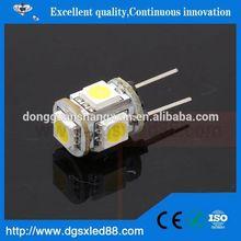 Ecolight,Best Selling! Small Size Epoxy resin glue LED 12V 1.5W G4 Led Lamp