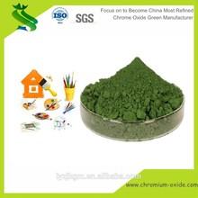 High Temperature Resistant Chromium Oxide Green Color Pigment Factory Price