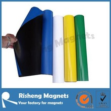 high quality colored pvc vinyl coated rubber magnet sheet