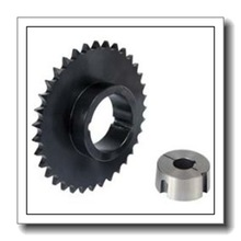 D50TB25 Roller Chain Sprocket, 2 Strand, Taper Bore, Bushed, Steel, 50 Pitch, 25 Teeth