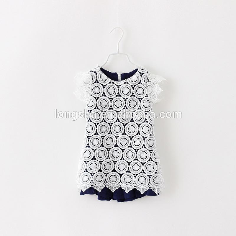 elegante crianças roupas primeira comunhão vestido da menina de verão coreano moda infantil