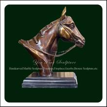 Cheap High Quality Bronze Cast Horse Head