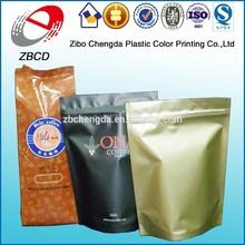 wholesale aluminum foil ziplock bag stand up pouch