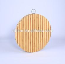 Natural nanzhu chopping block, wooden pizza cutting board