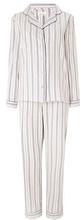2015 OEM girls' classic stripe 100% brushed cotton PJ set