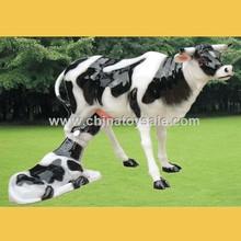 2015 Garden Styel Polyresin Cartoon With Sex Animal Cow
