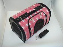 Luxury shoulder dog bag carrier pet cat cage
