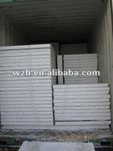 50/75mm without Rib EPS Sandwich Panel for Roof of Prefab house exported to Australia