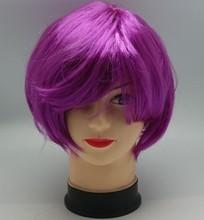 cheap football fans wig,party wig,crazy wig deep curly brazilian virgin hair