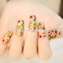 nail art rose writing