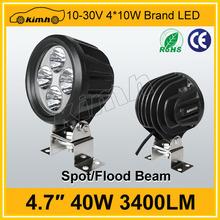 "Tuning light 4.7"" 40w spot/flood beam worklight"