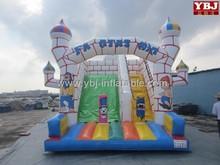 kids castle backyard offer inflatable slides