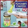 Puede abrelatas abrelatas manual de seguridad abrelatas como se ve en TV utensilios de cocina