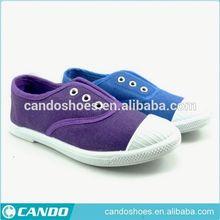 2015 assorted colors shoes rubber sole canvas shoes