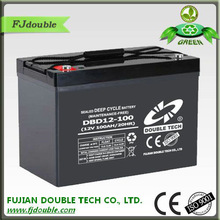 High Quality Pakistan 12volt 100ah deep cycle batterys UPS battery solar battery