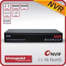 4CH NVR 960P, 720P, 2CH 1080P Support P2P Cloud ID, QR code, CMS software