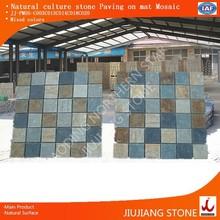 Natural culture stone interlocking slate
