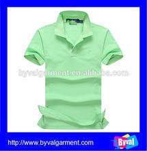 Summer 2015 polo shirt embroidery, Wholesale short sleeve polo shirt green plain, Custom polo shirt loose