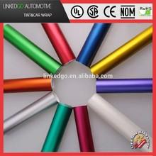 Good car wrapping metallic satin chrome wholesales 1.52*20M matte several colors chrome vinyl wrap