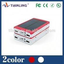 universal multi usb charger solar power bank 12000mah