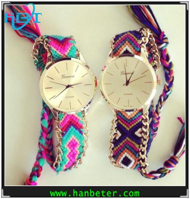 Bracelet Watch Strap Strap Woven Bracelet Watch