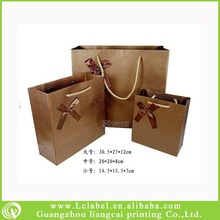 Hot-selling paper bag images recycled brown paper bag