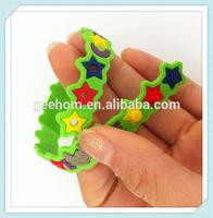 2015 promotional gifts- custom make rubber band bracelet
