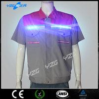 Alibaba Anti-pilling High visibility flashing led tshirt