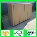 china fornecedor de tamanho padrão mdf móveis mdf mdf porta interior