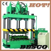 europe standard 4-post hydraulic presses,hydraulic press machine