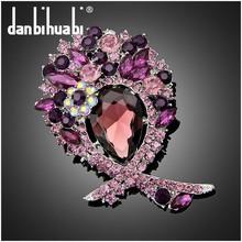 craft handmade brooch for bridal fashion Jewelry new design corsage hijab pins Ae061-B