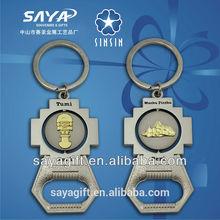 2015 New Model oem/odm acrylic photo frame key chain Wholesale