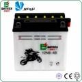 De plomo ácido de la motocicleta de la batería 12 v 9ah batería