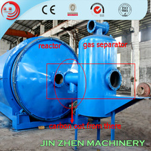 Extraction Of Oil Used Rubber Tyres/Plastics Pyrolysis Machine