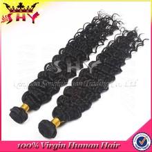 malaysian remy kinky curly human hair weft