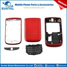 Factory Price Original Full Red Housing For Blackberry 9800