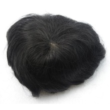 swiss lace 8x10inch 100% human hair piece toupee/hair wigs for men price