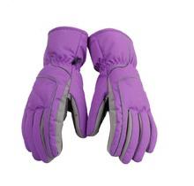 sportwear accessories winter Solid Snow Ski Gloves