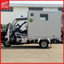 KV250ZH-D New Hospital Ambulance Three Wheel Motorcycle / Tuk Yuk with cheap cost