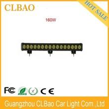 Chinese motorcycle accessory led lighting waterproof 10w/pcs offroad led strip light 160w led light bar