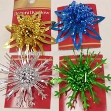 Shiny Metallic Gift Bows For Christmas Halloween Holidays