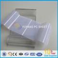 Transparente de cartón corrugado para techos hojas de pc/de policarbonato panel de la onda