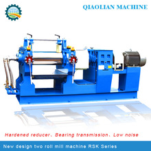 QiaoLian brand lab type Two Roll Mill For rubber tire vulcanizer