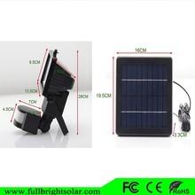 Hot Super Bright New Style Promotion Solar Flood Light For Park Villa