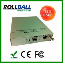Support hot plugging 10G fibre to copper converter
