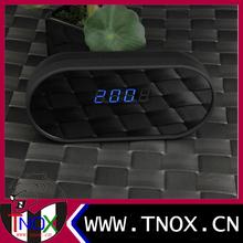 Digital wall desk clock wifi 1080P Remote real-time Control Network radio Camera Module alarm hidden Camera wifi clock