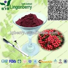 Sorbus pohuashanensis Extract 5%-70% Anthocyanin / Natural aronia extract